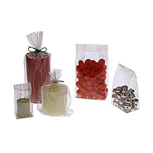JAM Paper® Cello Bags - Medium - 3 1/2