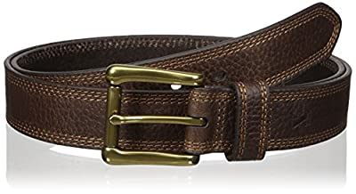 Nocona Belt Co. Men's Work Brown Triple Stitch