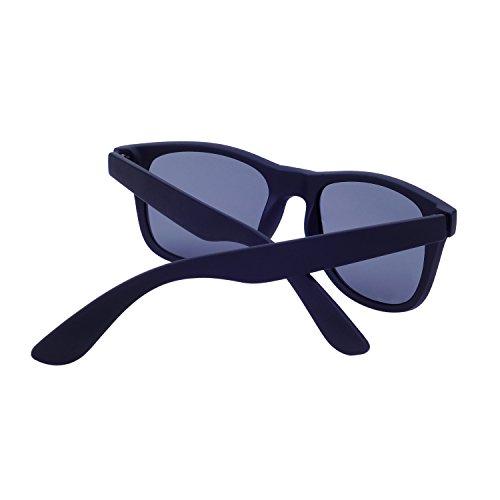Lunettes Protection étui Wayfarer QIXU de et avec 400 Rigide UV Polarisées Femme Miroir Soleil Lunettes Noir Hommes Uqq7x6rt