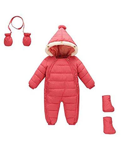 Ikerenwedding Baby Boys Girls Newborn Pram One-Piece Snow...