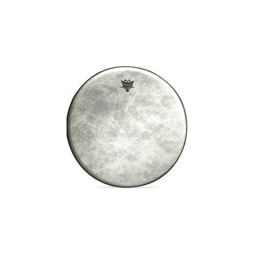 - Remo FD1524-00 24-Inch Fiberskyn 3 Diplomat Bass Drum Head