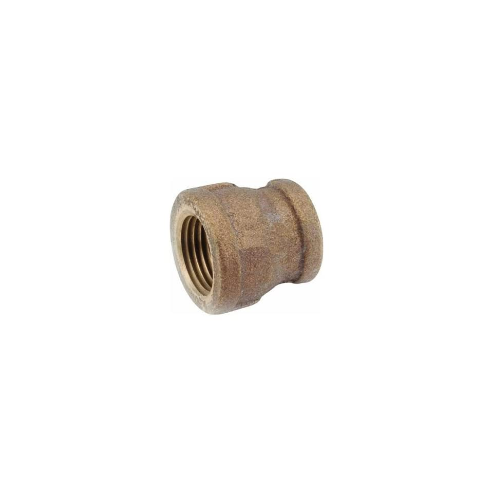 Anderson Metals Corp 1/2X3/8Brs Red Coupling 738119 080 Brass Pipe Coupling Reducers & Bushings
