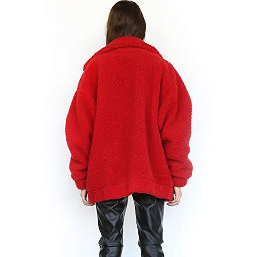 Red Manteau Femme Femme Manteau Red Tidecc Tidecc dUnIwEgq