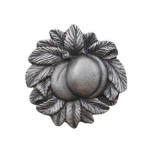 Notting Hill Decorative Hardware Georgia Peach Knob, Antique Pewter
