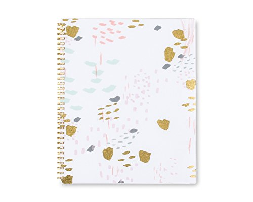 Ashley G for Blue Sky White Abstract 8.5 x 11 Weekly/Monthly Planner, Academic Year Jul 2016 - Jun 2017 (Blue Sky Planner compare prices)
