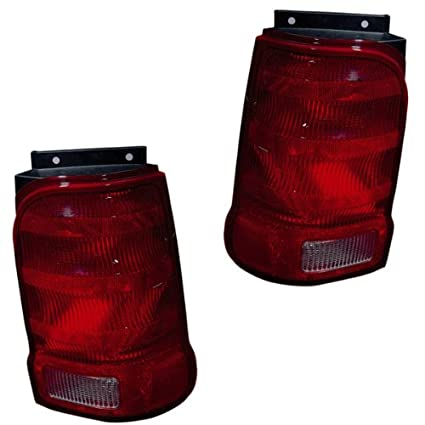 2001 2002 2003 Ford Explorer 2 Door Sport Taillight Taillamp Rear Brake Tail Light Lamp Pair Set Right Passenger And Left Driver Side 01 02 03