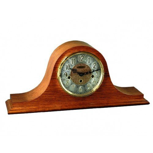 Laurel Mantel Clock with Mechanical Movement by Hermle in Cherry or Oak