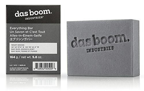 West Indies Collection (Das Boom Everything Bar Soap 5.8 Oz - West Indies (Bay Rum, Smoke, & Dirt))