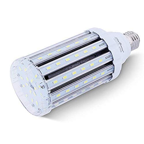 30W Daylight LED Corn Light Bulb for Indoor Outdoor Large Area - E26 Socket 3000Lm 6500K,for Home Street Lamp Post Lighting Garage Factory Warehouse High Bay Barn Porch Backyard Garden Super Bright by SkyGenius