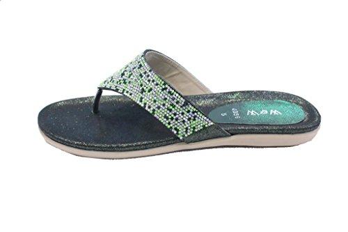 Material Para Uk Verde Walk Vestir Wear Sintético amp; Mujer De Sandalias xY8qUSPw