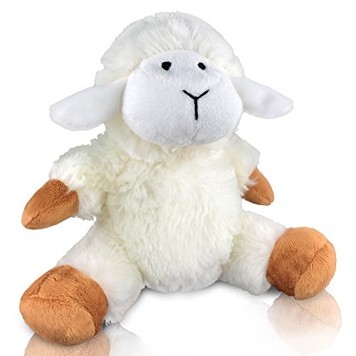 EpicKids Stuffed Sheep - Plush Lamb Animal - Suitable for Babies and Children - 7 Inches - Stuffed Sheep