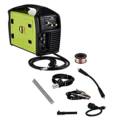 150 Amp MIG/Arc/MMA/Stick Multifunction DC Welder 115/230V Dual Voltage IGBT Inverter Welding Soldering Machine