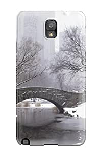 Faddish Phone Snow S Case For Galaxy Note 3 / Perfect Case Cover