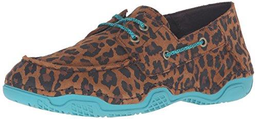 Ariat Womens Caldwell Hiking Shoe Tan Leopard Print