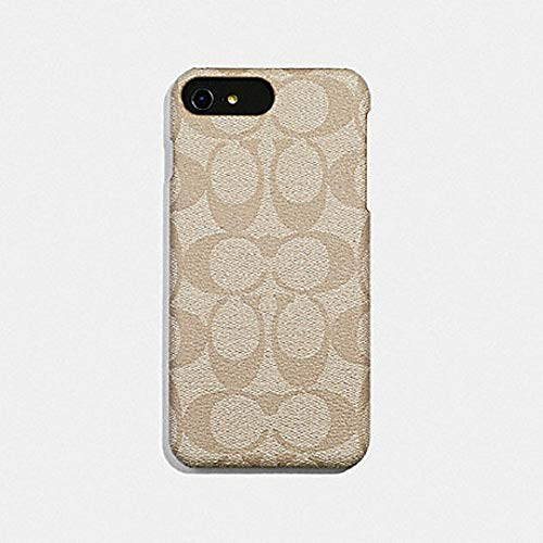 Coach Signature Coated Canvas Phone Case for iPhone 8 Plus/iPhone 7 Plus (Ivory) (Case Iphone Coach)
