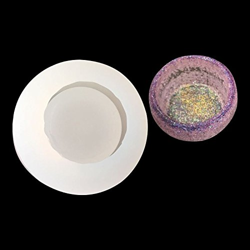 Mold Dish (WXLAA Silicon Resin Casting Bowl Mold Jewelry Mould DIY Craft Making)
