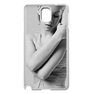 Celebrities Elisha Cuthbert Samsung Galaxy Note 3 Cell Phone Case White Delicate gift AVS_715083