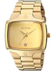 Nixon The Player Mens Watch - Gold/Gold