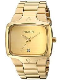 Nixon Men's NXA140509 Stainless Steel Gold Dial Watch