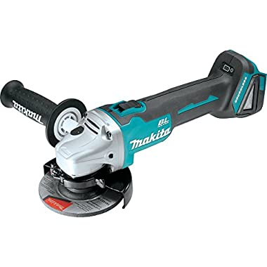 Makita XAG03Z 18V LXT Lithium-Ion Brushless Cordless Cut-Off/Angle Grinder, 4-1/2-Inch