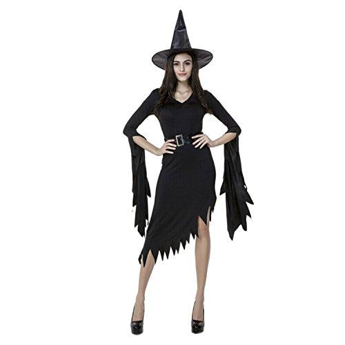 Women's Elegant Witch Costume Halloween Cosplay (Halloween Picters)