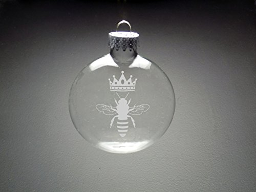 Queen Bee Christmas Ornament - Christmas Gift - Holiday Ornament, great bee ornaments for christmas
