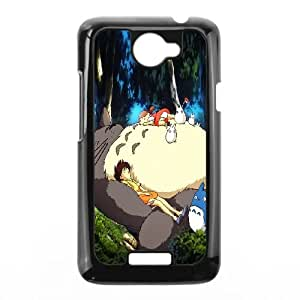 My Neighbour Totoro HTC One X Cell Phone Case Black lbmr