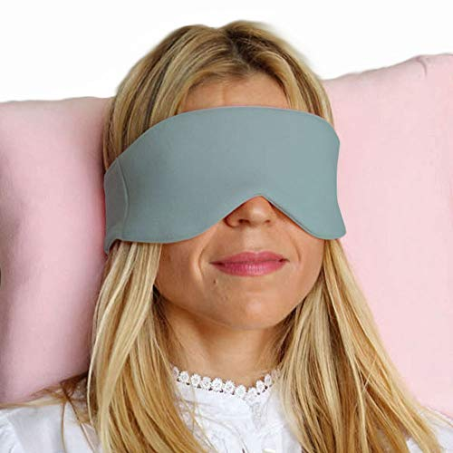 HappyLuxe Escape Sleeping Mask, Great for Sleep, Flights, and Travel (Sage Green) by HappyLuxe