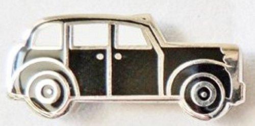 Black Cabs London (London City Black Taxi Cab Austin FX4 Enamel and Metal Pin Badge)