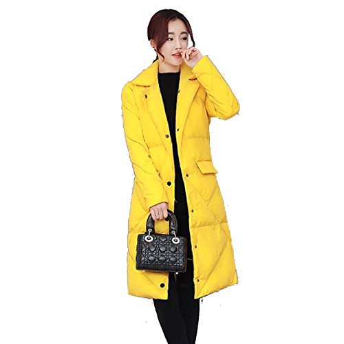 Loose Section nihiug Padded Outwear Coat Coat Winter Lady Down Down Warmth Long Eiderdown Women Jacket C rrqxzwO0
