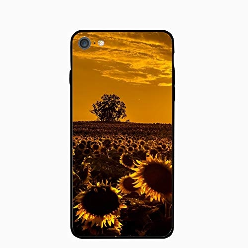 iPhone 6/6s Case,Personalized Red Sunflowers Floral Print PC Cellphone case