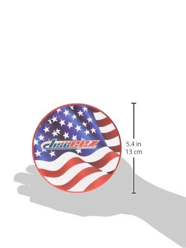 Stars//Stripes Disceez 8176009 Indoor//Outdoor Flying Disc 13cm