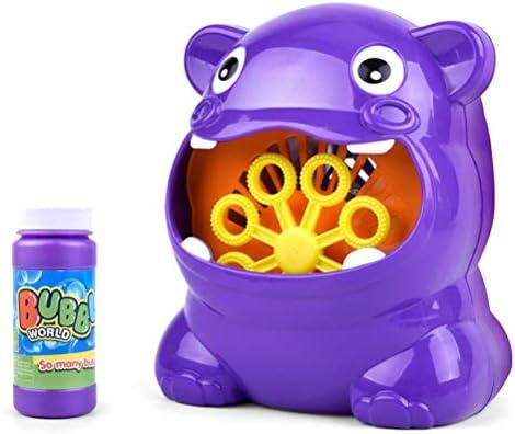 Máquina de Burbujas para niños y Botella Grande Máquina de Burbujas Bebés líquidos Juguetes de baño para niños de un año Juguetes para bebés: Amazon.es: Hogar