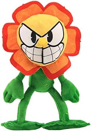 changshuo JugueteDePeluche 25 Cmcuphead Plush Toy Game Doll Dollman The Devil Chalice Cute Cartoon Toys Soft Plush Stuffed Doll Niños Regalo De Cumpleaños