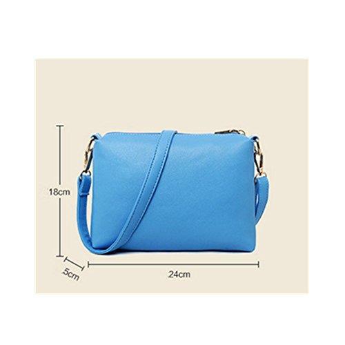 Bolsos Xagoo de la mujer de la vendimia del patrón del monedero de Crossbody de los bolsos de cuero del nuevo diseño del bolso de la bolsa de mensajero + + Cambio (Estilo 5) Estilo 4