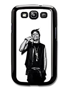 AMAF ? Accessories ASAP Rocky Black and White Portrait Showing Teeth case for Samsung Galaxy S3