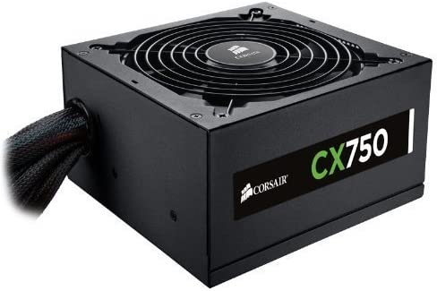 Corsair CX750 Alimentation PC 80 PLUS Bronze, 750 Watt, EU