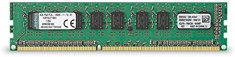 4GB DDR3 PC3-12800 1600MHz RDIMM Memory RAM Kingston KVR16LR11S8//4I Equivalent