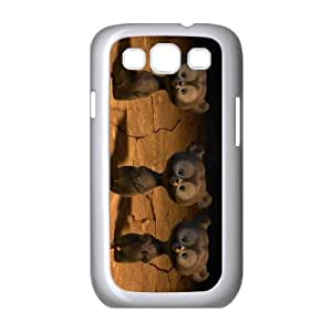 brave triplet bear cubs Samsung Galaxy S3 9300 Cell Phone Case White PSOC6002625559127