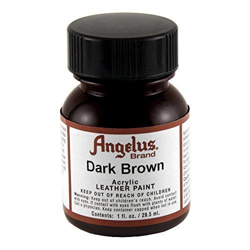 Angelus Leather Paint Dark Brown