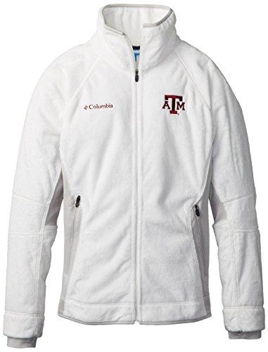 NCAA Texas A&M Aggies Collegiate Pearl Plush II Fleece Jacket, Sea Salt, Medium ()
