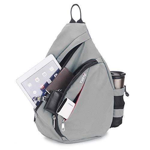 027842dae4 Jual YUOTO Sling Backpack One Strap Crossbody Shoulder Sling Bag ...