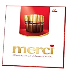 MERCI offers a thoughtful collection of rich, European chocolates made from the finest ingredients available. Known as Europe's famous gift-giving chocolate, MERCI offers something for everyone and is sure to be warmly received. Say thank you...