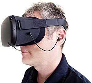 SpectraShell OQ9 Earbuds Earphones Custom Made for Oculus Quest VR Headset