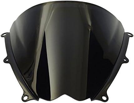 Double Bubble Windshield WindScreen Smoke Fit 2007-2008 SUZUKI GSXR 1000 K7 K8
