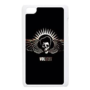 iPod Touch 4 Phone Case White Volbeat ESTY7846285