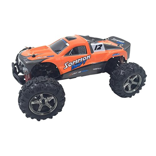 Excellent SOMMON CoCo-4 Off Road RC Remote Control Car 4WD High Speed Electric Vehicle Dreamyth (Orange) (Lamborghini Rc Powered Gas)