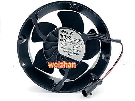 For D1751U24B6PZ-17 SERVO Axial Fan 17051 24V ABB Inverter Fan