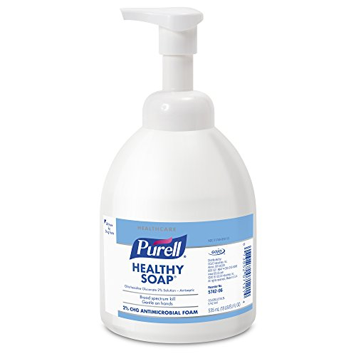 535 Ml Pump Bottle - PURELL Healthcare Healthy SOAP 2.0 Percent CHG Antimicrobial, 535 mL Counter Top Pump Bottle (Pack of 6) 5742-06