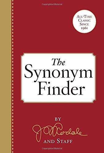 The Synonym Finder -